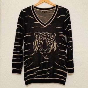 🔥Yuka Tiger Stripes Sweater